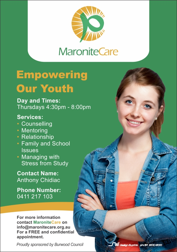 Maronite Care a5 flyer